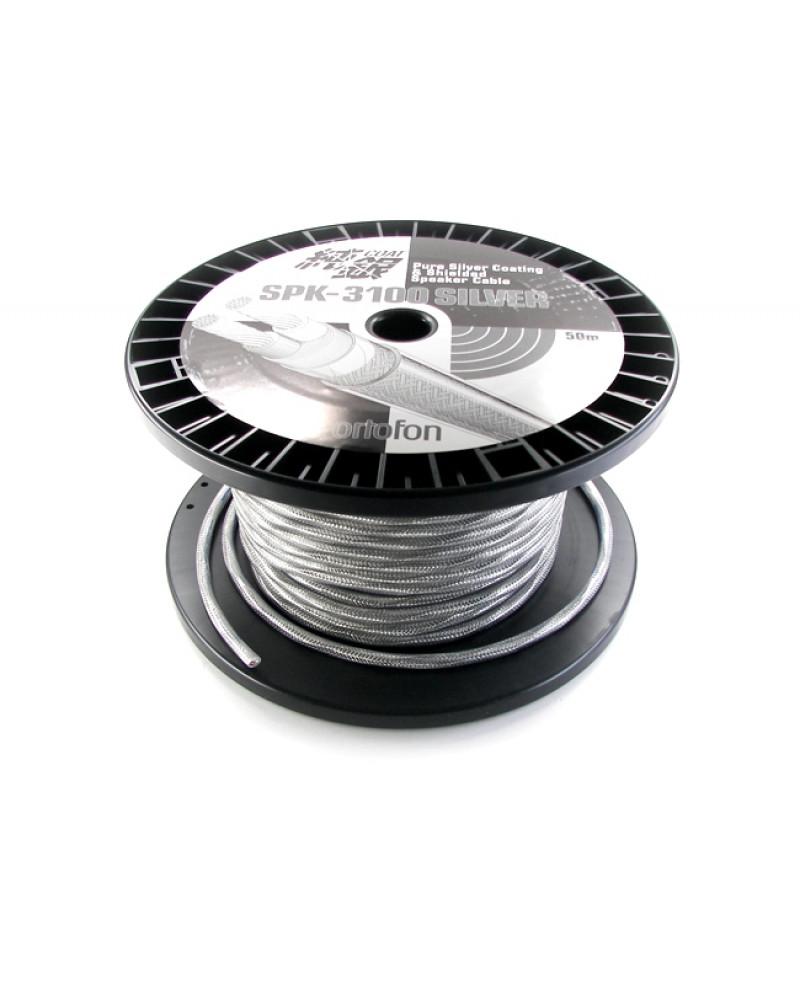 Ortofon SPK-3100 Silver ezüst tartalmú hangsugárzókábel