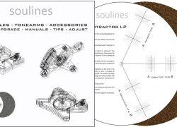 Soulines SX2LP beállítósablon és gumi-parafa alátét