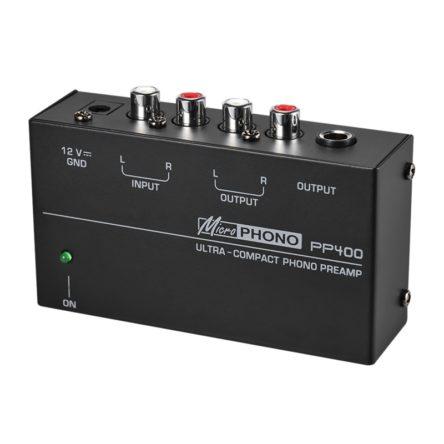 Micro Phono előerősítő