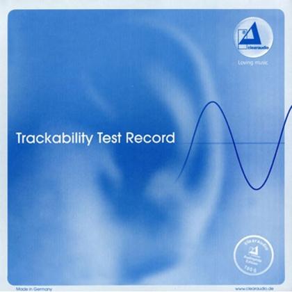 Clearaudio Trackability Test Record – beállító lemez